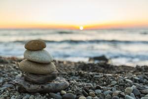 Zen, health, calm.